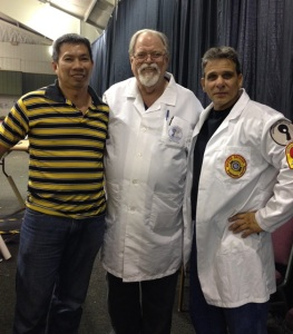Francis with Drew Lobenstein and John Manckia