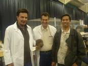 Jim Rini, Dennis Soares and Francis c